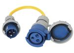 CE IP67 ADAPTER EXTENSION CABLES - Vtičnica I