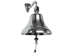 CLASSIC CHROMED BRASS SHIP BELLS - 1
