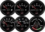 ECMS ALL BLACK GAUGES - Merilnik tlaka olja