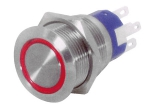 FLAT S/STEEL LED SWITCH - Stikalo
