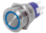 FLAT S/STEEL LED SWITCH - Stikalo - I