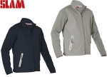 JAKNA SLAM HAMPTON EVO PILE JACKET S LIGHT GREY