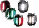 LED SIRIUS S/STEEL USCG-COLREG NAV LIGHTS - Navigacijska luč rde