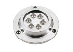 MTM UNDERWATER ROUND STEEL LED LIGHT - Podvodna luč