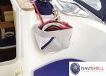 NAVISHELL SMALL HALYARD STOWBAG - GREY