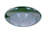 S/STEEL SLIM LED DOME LIGHT - 132