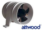 VENTILATOR ZA MOTORNI PROSTOR ATTWOOD 100 MM/24 V (BLOWER)