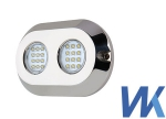 WK LED-120W UNDERWATER LIGHT podvodna luč modra