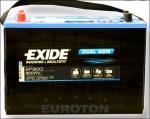 AKUMULATOR 100AH L+ 720A DUAL AGM EXIDE MARINE -330X173X240 - 10
