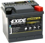 AKUMULATOR 40AH D+ 280A (G40) GEL EXIDE MARINE -207X175X175 - 40