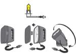 ŽAROMET ROBO QUARTZ - Nadomestna žarnica
